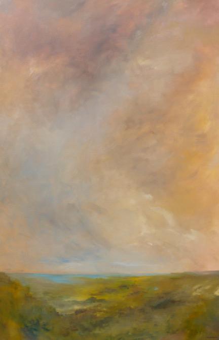 Glow oil on canvas 72x48