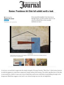 GN Providence Journal - Fall Exhibition
